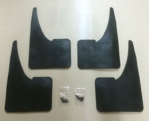 MAZDA MUDFLAPS SET OF 4 WITH FITTINGS